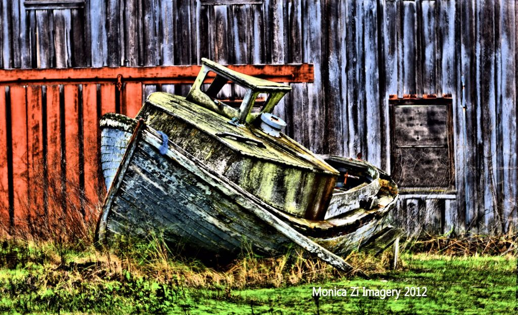 HDR Photo of Boat